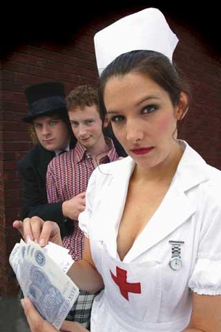 Lucy Montgomery Sexy Nurse